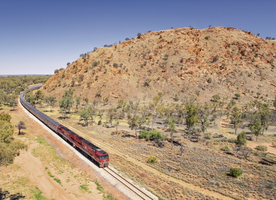 The Ghan & Indian Pacific