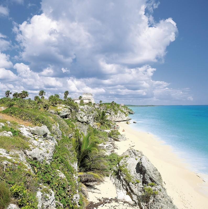 Große Mietwagenreise Mayaland