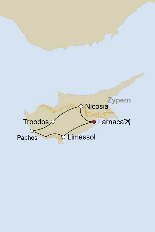 Privatreise: Die zauberhafte Vielfalt  Zyperns entdecken