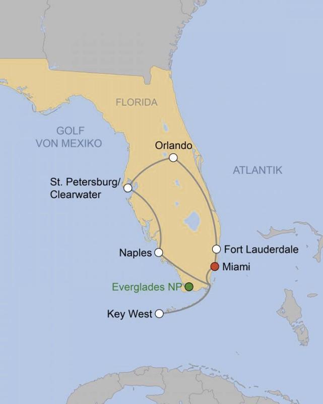Kuoni Reisen: Florida Deluxe