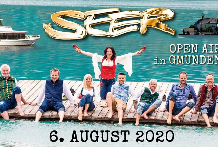 Die Seer – Open-Air-Konzert in Gmunden